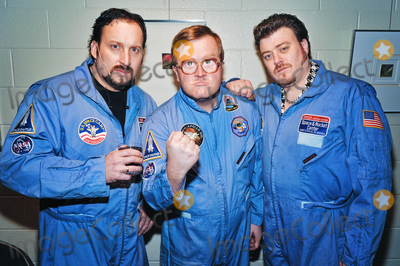 Photo - 22 April 2021 - Trailer Park Boys (John Paul Tremblay, Mike Smith and Robb Wells), the Canadian mockumentary television series, celebrate its 20th Anniversary which premiered on Showcase on April 22, 2001. File Photo: Trailer Park Boys Tour 2010, FirstOntario Concert Hall, Hamilton, Ontario, Canada. Photo Credit: Brent Perniac/AdMedia