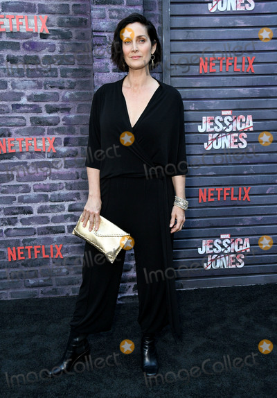 """Carrie-Anne Moss, Carrie Ann Moss, Carrie Anne Moss, Carrie Anne Moss, Carrie-Ann Moss, Jessica Jones Photo - 28 May 2019 - Hollywood, California - Carrie-Anne Moss. Special Screening Of Netflix's """"Jessica Jones"""" Season 3 held at Arclight Hollywood. Photo Credit: Birdie Thompson/AdMedia"""