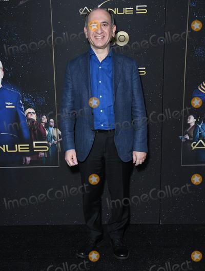 "Armando Iannucci Photo - 14 January 2020 - Hollywood, California - Armando Iannucci. HBO's ""Avenue 5"" Premiere - Los Angeles  held at Avalon Hollywood. Photo Credit: Birdie Thompson/AdMedia"