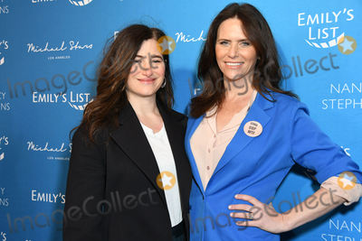 """Amy Landecker, Four Seasons, Kathryn Hahn Photo - 04 February 2020 - Beverly Hills - Kathryn Hahn, Amy Landecker. EMILY's List Brunch and Panel Discussion """"Defining Women"""" held at  Four Seasons Hotel Los Angeles at Beverly Hills. Photo Credit: Birdie Thompson/AdMedia"""