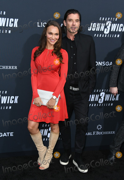 "Photo - 15 May 2019 - Hollywood, California - Gavin Rossdale, Natalie Golba. ""John Wick: Chapter 3 - Parabellum"" Special Screening Los Angeles held at the TCL Chinese Theatre. Photo Credit: Birdie Thompson/AdMedia"