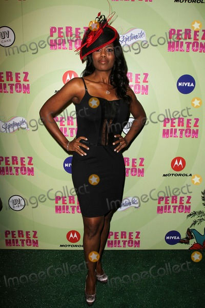 Perez Hilton, Omarosa Manigault-Stallworth, Omarosa Manigault Stallworth, Omarosa, Madness, OMAROSA MANIGAULT, Omarosa Stallworth Photo - 24 March 2012 - Hollywood, California -  Omarosa Manigault Stallworth. Perez Hilton's Mad Hatter Tea Party Birthday Celebration Held at Siren Studios. Photo Credit: Kevan Brooks/AdMedia