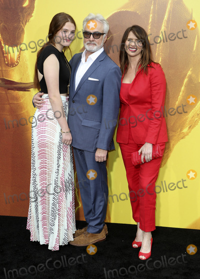 """Amy Landecker, Bradley Whitford, TCL Chinese Theatre Photo - 18 May 2019 - Hollywood, California - Mary Louisa Whitford, Bradley Whitford, Amy Landecker. """"Godzilla: King Of The Monsters"""" Los Angeles Premiere held at TCL Chinese Theatre. Photo Credit: Faye Sadou/AdMedia"""