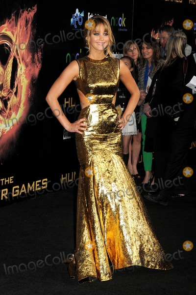 "Jennifer Lawrence Photo - 12 March 2012 - Los Angeles, California - Jennifer Lawrence. ""The Hunger Games"" Los Angeles Premiere held at Nokia Theatre LA Live. Photo Credit: Byron Purvis/AdMedia"