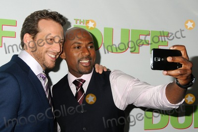 """Ari Sandel, Romany Malco Photo - 12 February 2015 - Hollywood, California - Ari Sandel, Romany Malco. """"The Duff"""" Los Angeles Fan Screening held at the TCL Chinese 6 Theatres. Photo Credit: Byron Purvis/AdMedia"""