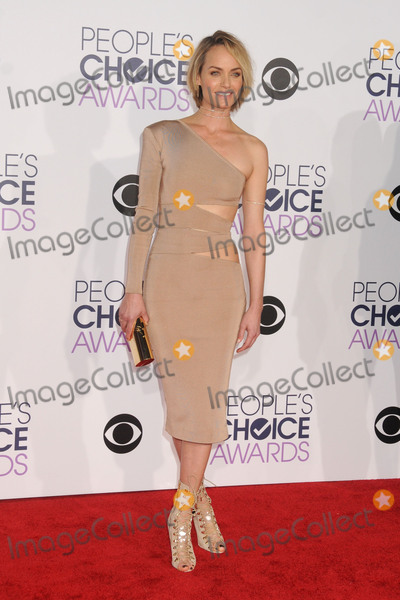 AMBER VALETTA Photo - 6 January 2016 - Los Angeles, California - Amber Valetta. People's Choice Awards 2016 - Arrivals held at The Microsoft Theater. Photo Credit: Byron Purvis/AdMedia