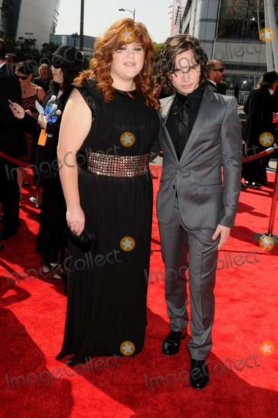 August Emerson, Melissa Buell Photo - 10 September 2011 - Los Angeles, California - Melissa Buell and August Emerson. 2011 Primetime Creative Arts Emmy Awards held at Nokia Theatre LA Live. Photo Credit: Byron Purvis/AdMedia