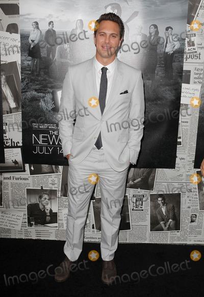 "Thomas Sadoski Photo - 10 July 2013 - Hollywood, California - Thomas Sadoski. Los Angeles Season 2 Premiere Of HBO's Series ""The Newsroom"" Held At Paramount Studios lot. Photo Credit: Kevan Brooks/AdMedia"