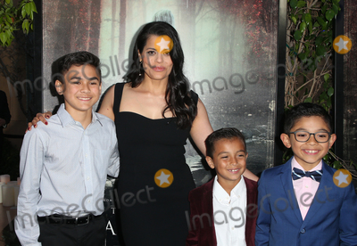 "Marisol Ramirez, Jayden Valdivia, Oliver Alexander Photo - 15 April 2019 - Hollywood, California - Aiden Lewandowski, Marisol Ramirez, Oliver Alexander, Jayden Valdivia. Premiere Of Warner Bros' ""The Curse Of La Llorona"" held at The Egyptian Theatre. Photo Credit: Faye Sadou/AdMedia"