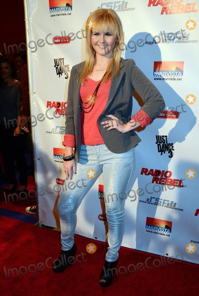"Ashlee Keating Photo - 15 February 2012 - Universal City, California - Ashlee Keating. Disney's ""Radio Rebel"" Premiere held at AMC CityWalk Stadium 19. Photo Credit: Birdie Thompson/AdMedia"