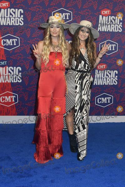 Alyssa Bonagura, RUBY STEWART Photo - 05 June 2019 - Nashville, Tennessee - Ruby Stewart, Alyssa Bonagura. 2019 CMT Music Awards held at Bridgestone Arena. Photo Credit: Dara-Michelle Farr/AdMedia