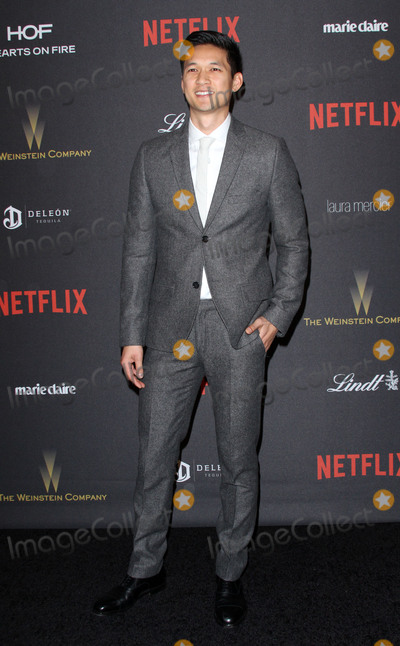 Harry Shum, Harry Shum Jr., Harry Shum, Jr. Photo - 10 January 2016 - Los Angeles, California - Harry Shum, Jr.. 2016 Weinstein Company & Netflix Golden Gloves After Party held at the Beverly Hilton Hotel. Photo Credit: AdMedia