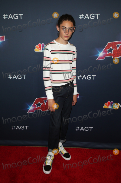 "Benicio Bryant Photo - 27 August 2019 - Hollywood, California - Benicio Bryant. ""America's Got Talent"" Season 14 Live Show Red Carpet held at Dolby Theatre. Photo Credit: FSadou/AdMedia"