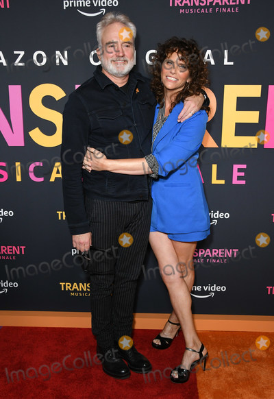 "Amy Landecker, Bradley Whitford Photo - 13 September 2019 - Los Angeles, California - Amy Landecker, Bradley Whitford. ""Transparent Musicale Finale""  Los Angeles Premiere held at Regal Cinemas LA Live. Photo Credit: Birdie Thompson/AdMedia"