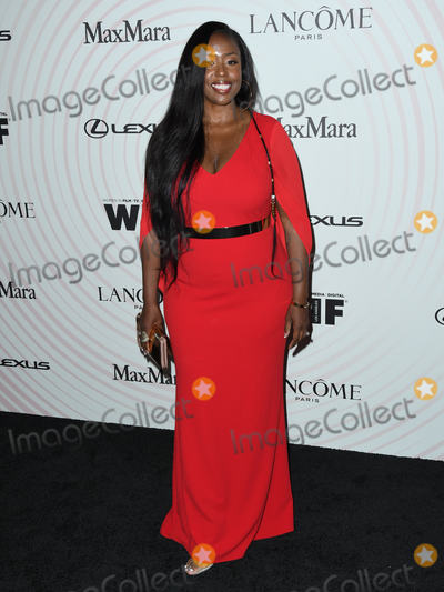 Angelique Fawcette Photo - 13 June 2018 - Beverly Hills, California - Angelique Fawcette. Women In Film 2018 Crystal + Lucy Awards held at  Beverly Hilton Hotel. Photo Credit: Birdie Thompson/AdMedia