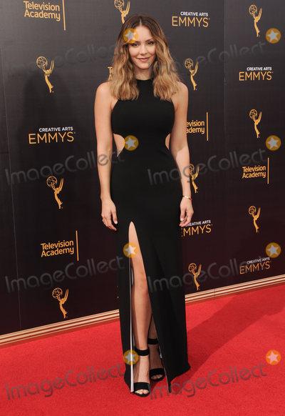 Katharine McPhee Photo - 11 September 2016 - Los Angeles, California. Katharine McPhee. 2016 Creative Arts Emmy Awards - Day 2 held at Microsoft Theater. Photo Credit: Birdie Thompson/AdMedia