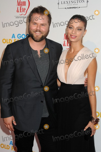 "Angela Sarafyan, Tyler Labine, Orgy Photo - 25 August 2011 - Hollywood, California - Tyler Labine and Angela Sarafyan. ""A Good Old Fashioned Orgy"" Los Angeles Special Screening held at Arclight Cinemas. Photo Credit: Byron Purvis/AdMedia"
