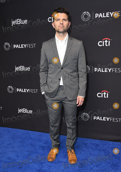"Adam Scott Photo - 24 March 2019 - Hollywood, California - Adam Scott. 2019 Paleyfest - CBS All Access's ""The Twilight Zone"" held at The Dolby Theater. Photo Credit: Birdie Thompson/AdMedia"