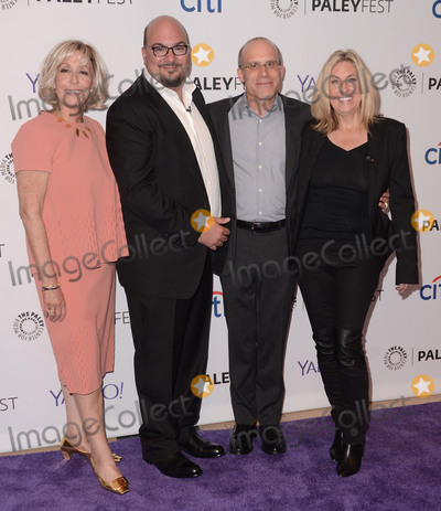 "Ann Donahue, Anthony E. Zuiker, Carol Mendelson Photo - 16 September  2015 - Beverly Hills, California - Ann Donahue, Anthony E. Zuiker, Johnathan Littman, Carol Mendelson. 2015 Paleyfest Fall TV Preview ""CSI: Farewell Tribute"" held at Paley Center for Media. Photo Credit: Birdie Thompson/AdMedia"
