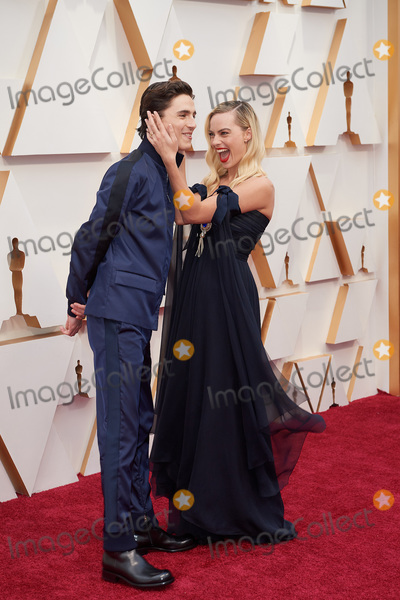 Margot Robbie, Timothee Chalamet Photo - 09 February 2020 - Hollywood, California - Timothee Chalamet, Margot Robbie. 92nd Annual Academy Awards presented by the Academy of Motion Picture Arts and Sciences held at Hollywood & Highland Center. Photo Credit: A.M.P.A.S./AdMedia