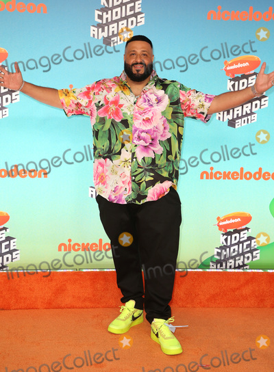 DJ KHALED, Khaled, Dj Khaleed, Hüsker Dü Photo - 23 March 2019 - Los Angeles, California - DJ Khaled. 2019 Nickelodeon Kids' Choice Awards held at The USC Galen Center. Photo Credit: Faye Sadou/AdMedia