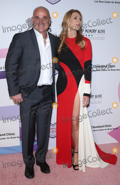 Andre Agassi, Steffi Graf Photo - 27 April 2017 - Las Vegas, NV -   Andre Agassi, Steffi Graff. Keep Memory Alive's 21st Annual Power of Love Gala at MGM Grand Garden Arena.  Photo Credit: MJT/AdMedia