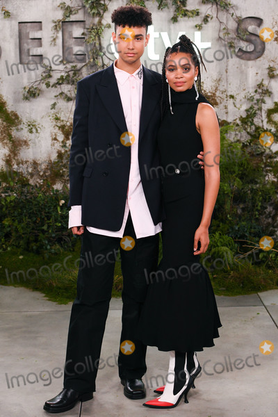"""Nesta Cooper, Archie Madekwe Photo - 21 October 2019 - Westwood, California - Archie Madekwe, Nesta Cooper. World Premiere of Apple TV+'s """"See"""" held at Fox Village Theater. Photo Credit: Billy Bennight/AdMedia"""
