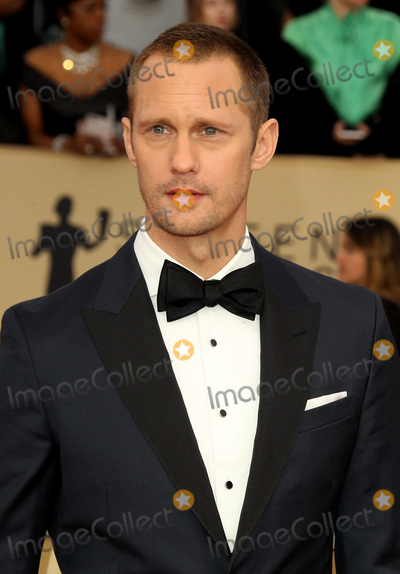 Alexander Skarsgard, Alexander Skarsgard- Photo - 21 January 2018 - Los Angeles, California - Alexander Skarsgard. 24th Annual Screen Actors Guild Awards Arrivals held at the Shrine Auditorium in Los Angeles. Photo Credit: AdMedia