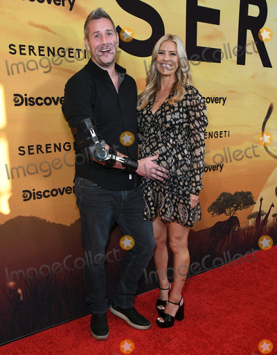 """Wallis Annenberg, Ant Anstead, Christina Anstead Photo - 23 July 2019 - Beverly Hills, California - Ant Anstead, Christina Anstead. Discovery's """"Serengeti"""" Los Angeles Special Screening held at The Wallis Annenberg Center for the Performing Arts. Photo Credit: Birdie Thompson/AdMedia"""