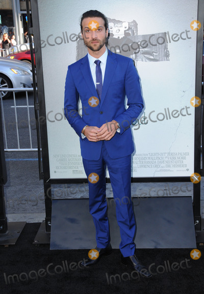 """Alexander DiPersia, TCL Chinese Theatre, Hüsker Dü Photo - 19 July 2016 - Hollywood, California. Alexander DiPersia. The Los Angeles Premiere of """"Light's Out"""" held at TCL Chinese Theatre. Photo Credit: Birdie Thompson/AdMedia"""