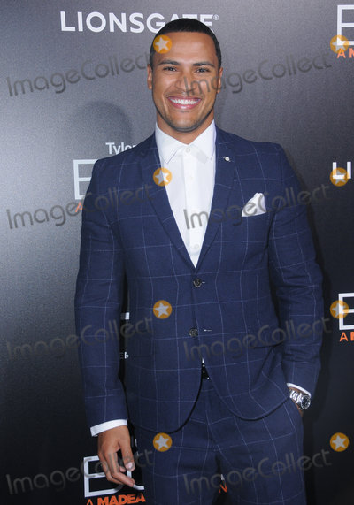"""Andre Hall Photo - 17 October 2016 - Hollywood, California. Andre Hall. Premiere Of Lionsgate's """"Boo! A Madea Halloween"""" held at ArcLight Cinerama Dome. Photo Credit: Birdie Thompson/AdMedia"""