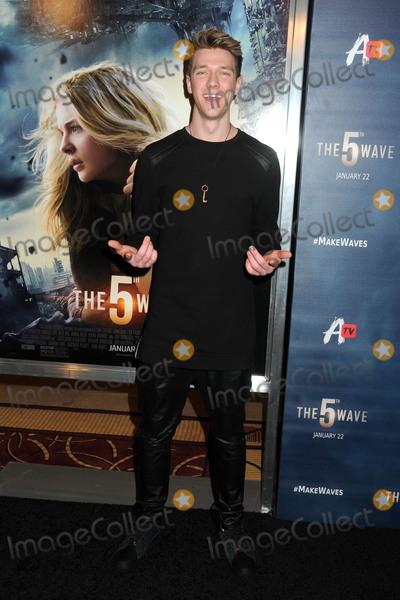 "Collins Key Photo - 14 January 2016 - Los Angeles, California - Collins Key. ""The 5th Wave"" Los Angeles Premiere held at Pacific Theatres At The Grove. Photo Credit: Byron Purvis/AdMedia"