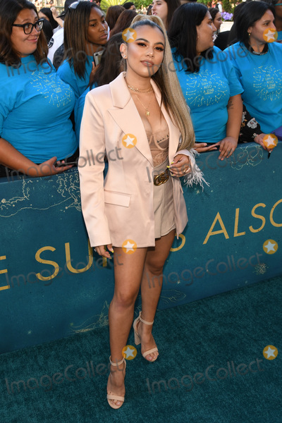 """Adelaine Morin Photo - 13 May 2019 - Los Angeles, California - Adelaine Morin. """"The Sun Is Also A Star"""" Warner Bros World Premiere held at Pacific Theatres at The Grove. Photo Credit: Billy Bennight/AdMedia"""