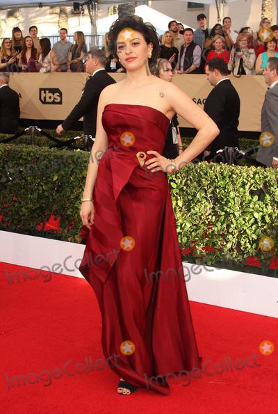 Alia Shawkat, Alias Photo - 29 January 2017 - Los Angeles, California - Alia Shawkat. 23rd Annual Screen Actors Guild Awards held at The Shrine Expo Hall. Photo Credit: AdMedia