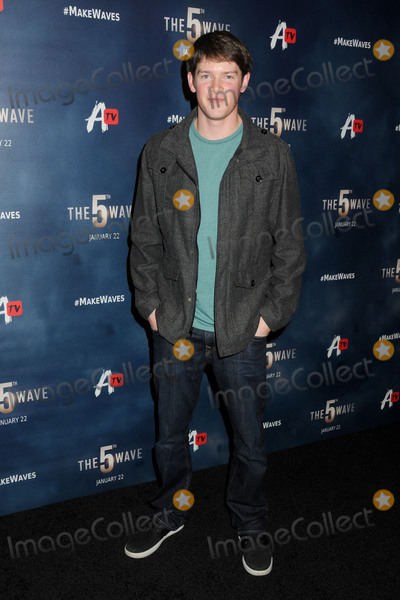 """Alex MacNicoll Photo - 14 January 2016 - Los Angeles, California - Alex MacNicoll. """"The 5th Wave"""" Los Angeles Premiere held at Pacific Theatres At The Grove. Photo Credit: Byron Purvis/AdMedia"""