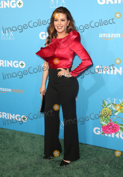 "Alicia Machado Photo - 06 March 2018 - Los Angeles, California - Alicia Machado. Amazon Studios and STX Films' ""Gringo"" Los Angeles Premiere held at Regal LA Live Stadium 14. Photo Credit: F. Sadou/AdMedia"