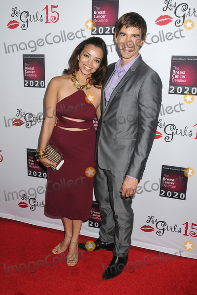 Christopher Gorham, Anel Lopez Photo - 11 October 2015 - Hollywood, California - Anel Lopez Gorham, Christopher Gorham. 15th Annual Les Girls Cabaret held at Avalon. Photo Credit: Byron Purvis/AdMedia