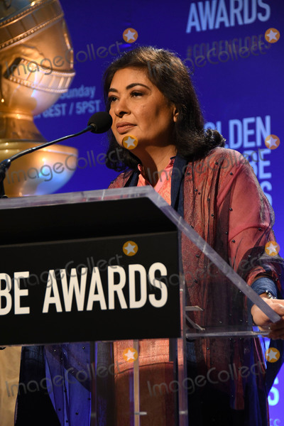Meher Tatna Photo - 06 December 2018 - Beverly Hills, California - Meher Tatna. 76th Annual Golden Globe Nominations Announcement held at the Beverly Hilton Hotel. Photo Credit: Birdie Thompson/AdMedia