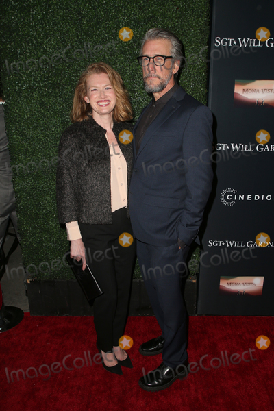 """Alan Ruck, Mireille Enos, Ruck Photo - 08 January 2019 - Hollywood, California - Mireille Enos, Alan Ruck. The premiere of """"SGT. Will Gardner"""" at ArcLight Hollywood. Photo Credit: F. Sadou/AdMedia"""