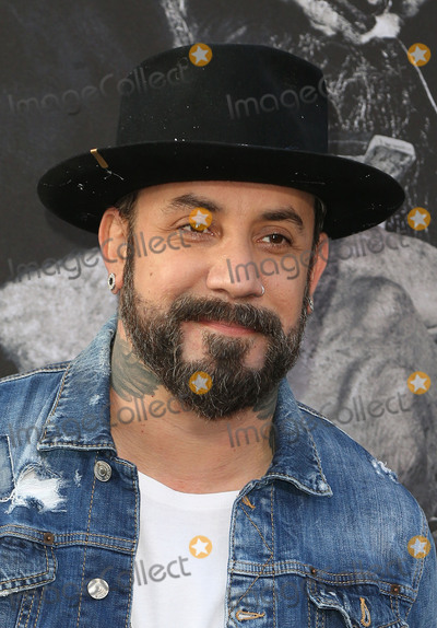 "A.J. McLean, The Sword, TCL Chinese Theatre Photo - 08 May 2017 - Hollywood, California - A.J. McLean. ""King Arthur: Legend Of The Sword"" Los Angeles Premiere held at TCL Chinese Theatre. Photo Credit: AdMedia"