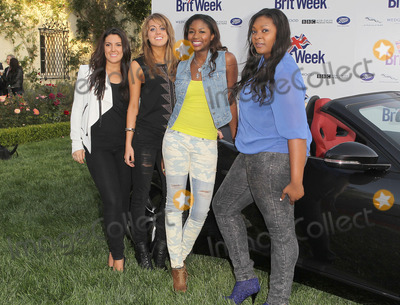 "Candice Glover, Kree Harrison, Amber Holcomb, Angie Miller Photo - 23 April 2013 - Los Angeles, California - Kree Harrison, Angie Miller, Amber Holcomb, Candice Glover. 7th Annual BritWeek Festival ""A Salute To Old Hollywood"" Launch Party held at the British Consul General's Residence. Photo Credit: Kevan Brooks/AdMedia"