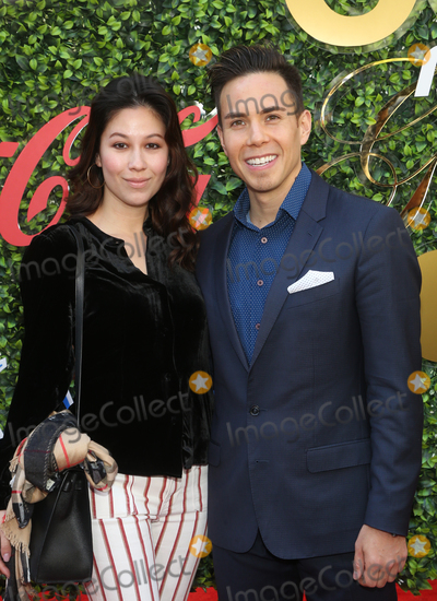 Apolo Anton Ohno, Bianca Stam Photo - 4 January 2020 - Beverly Hills, California - Bianca Stam and Apolo Anton Ohno. the 7th Annual Gold Meets Golden Brunch  held at Virginia Robinson Gardens and Estate. Photo Credit: FS/AdMedia