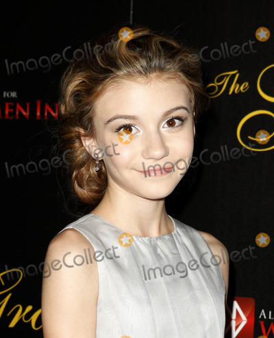 G. Hannelius, G Hannelius Photo - 21 May 2013 - Beverly Hills, California - G. Hannelius.  Gracie Awards Gala 2013 held at Beverly Hilton Hotel.  Photo credit: Emiley Schweich/AdMedia