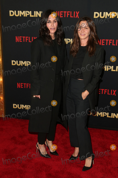 Amanda Anka, Courteney Cox Photo - 6 December 2018 - Hollywood, California - Courteney Cox, Amanda Anka. The world premier of Dumplin'  held at The TCL Chinese 6 Theaters. Photo Credit: Faye Sadou/AdMedia