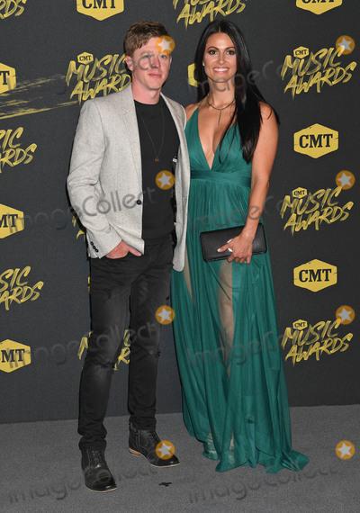 Adam Sanders Photo - 06 June 2018 - Nashville, Tennessee - Adam Sanders. 2018 CMT Music Awards held at Bridgestone Arena. Photo Credit: Laura Farr/AdMedia