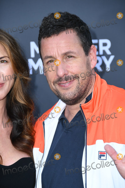 "Adam Sandler Photo - 10 June 2019 - Westwood, California - Adam Sandler. Netflix's ""Murder Mystery"" Los Angeles Premiere held at Regency Village Theater. Photo Credit: Birdie Thompson/AdMedia"