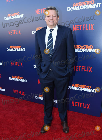 "Ted Sarandos, Arrested Development Photo - 17 May 2018 - Hollywood, California - Ted Sarandos. Netflix's ""Arrested Development"" Season 5 Premiere held at Netflix FYSee Theater. Photo Credit: Birdie Thompson/AdMedia"