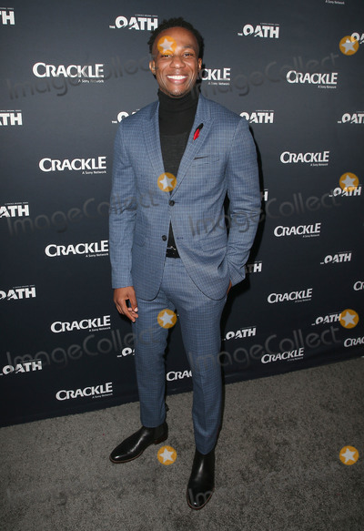 "Arlen Escarpeta Photo - 07 March 2018 - Culver City, California - Arlen Escarpeta. ""The Oath"" TV Series Los Angeles Premiere held at Sony Pictures Studios. Photo Credit: F. Sadou/AdMedia"
