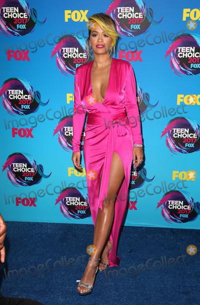 Rita Ora, Rita  Ora Photo - 13 August 2017 - Los Angeles, California - Rita Ora. 2017 Teen Choice Awards held at The Galen Center. Photo Credit: F. Sadou/AdMedia
