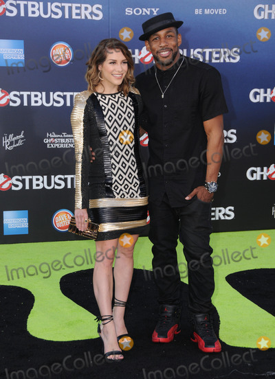 """Stephen """"tWitch"""" Boss, Stephen 'tWitch' Boss, Stephen tWitch Boss, tWitch Boss, """"tWitch"""" Boss, 'tWitch' Boss, TCL Chinese Theatre, Alison Holker Photo - 09 July 2016 - Hollywood, California. Alison Holker, Stephen """"Twitch"""" Boss. Arrivals for the Premiere Of Sony Pictures' """"Ghostbusters"""" held at TCL Chinese Theatre. Photo Credit: Birdie Thompson/AdMedia"""